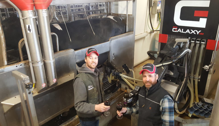 Theo & Gerben Ten Hoeve Dairy LLC AMS Galaxy USA Testimonial