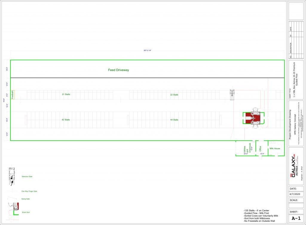 Custom Barn Design by AMS Galaxy USA